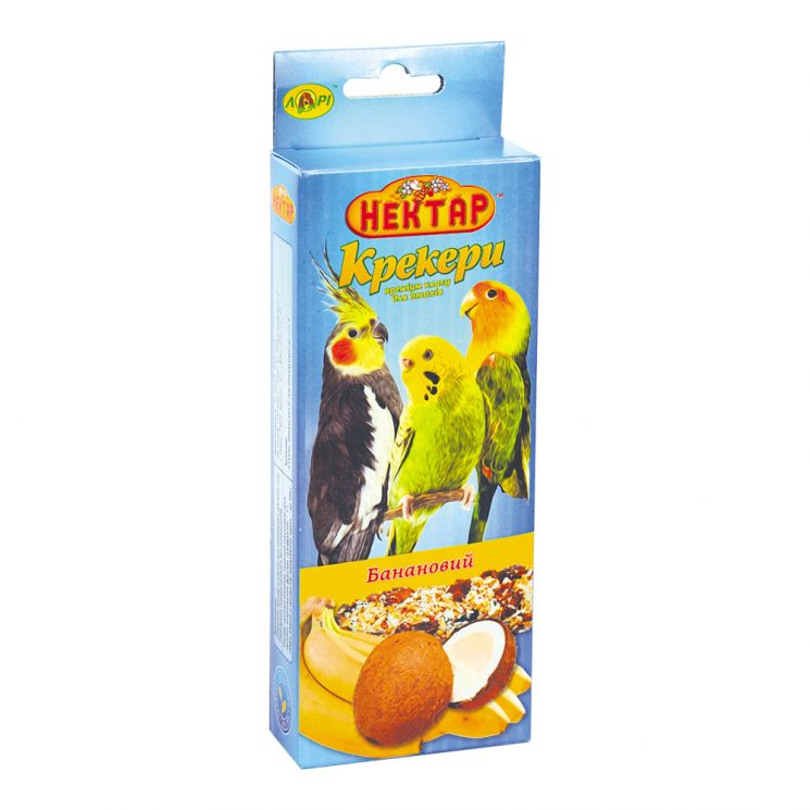 СХ банановый крекер для птиц премиум класса