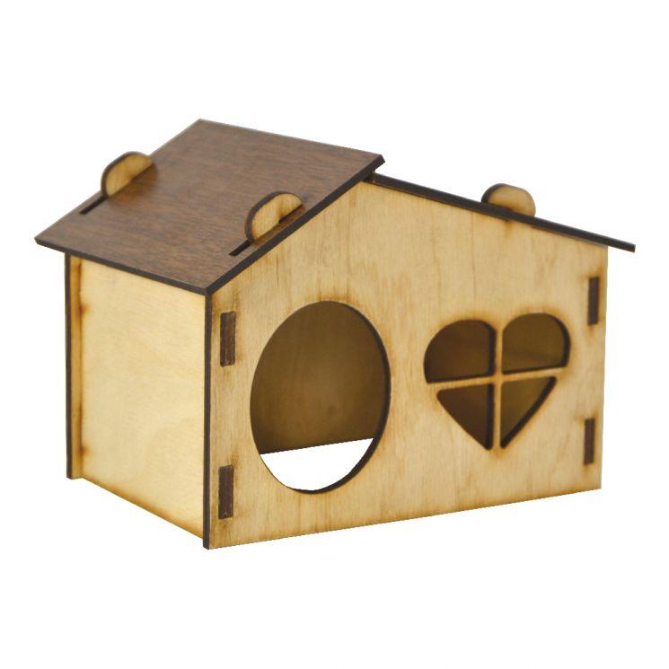 Будинок для щурів (колір, дерево)