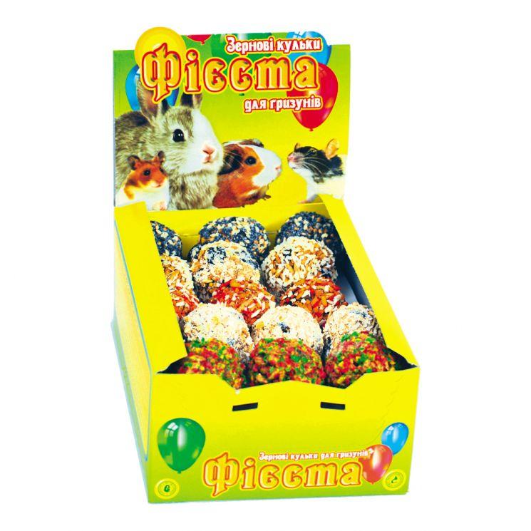 Зерновые шарики для грызунов, 30 шт