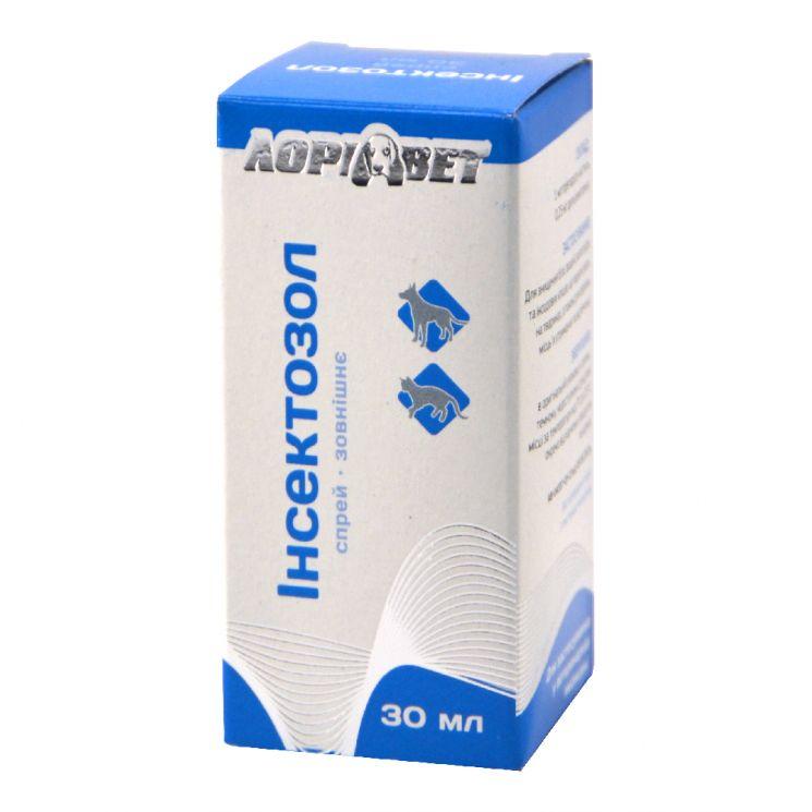 ИНСЕКТОЗОЛ, спрей против блох с микродозатором