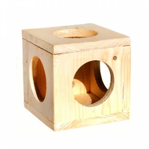 Куб подвесной для шиншилл, морских свинок (16 х 16)