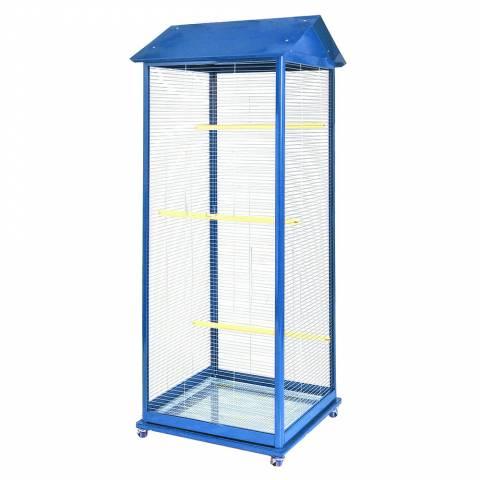 Клетка-Вольер для малых птиц на колесах