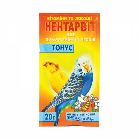 """Нектар-Віт """"Тонус""""(вітаміни для папуг)"""