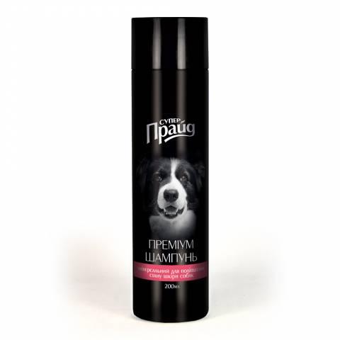 """Шампунь-преміум """"Супер-Прайд"""" універсальний, для поліпшення стану шкіри собак"""