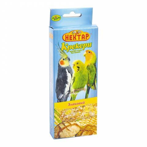 СХ- злаковий крекер для птахів преміум класу