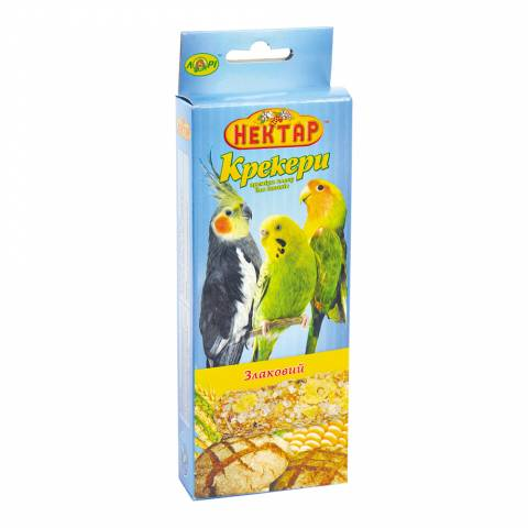СХ- злаковый крекер для птиц премиум класса