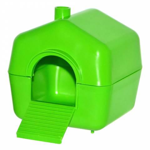 Будинок пластмасовий для малих гризунів