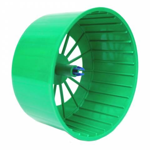 Барабан пластмассовый для хомяка с защелкой, цельный