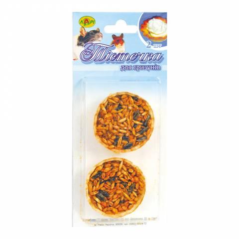 Зернові тістечка для гризунів, 2 шт