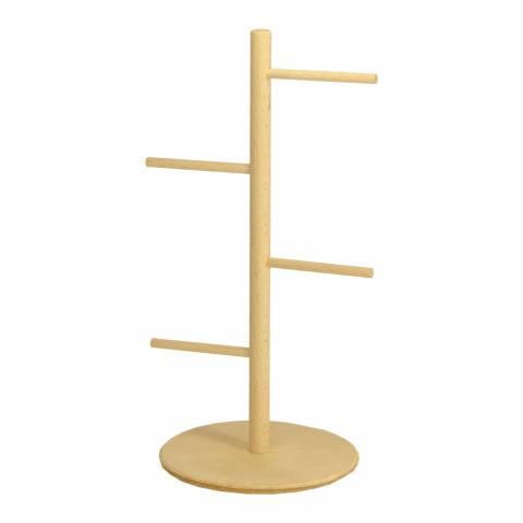 """Лесенка деревянная """"елочка"""" на подставке (25 см)"""