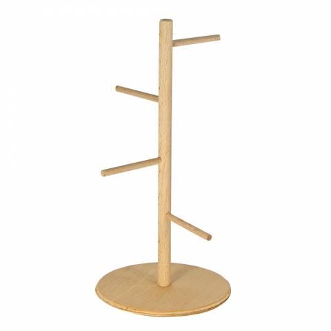 """Драбинка  дерев'яна """"ялинка"""" на підставці (25 см)"""