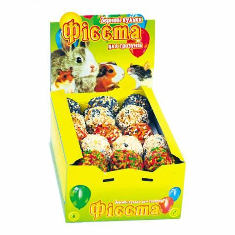 Зернові кульки для гризунів, 30 шт