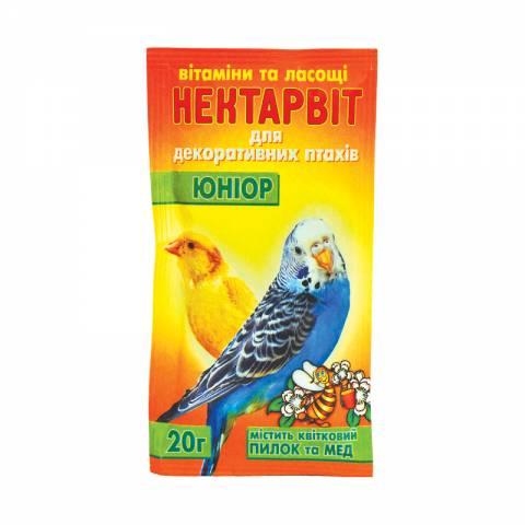 """Нектар-Віт """"Юніор""""(вітаміни для папуг)"""