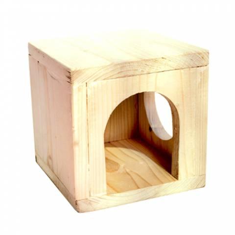 Дом подвесной для шиншилл, морских свинок (дерево)