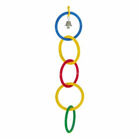 Олимпийка 5 колец + звонок