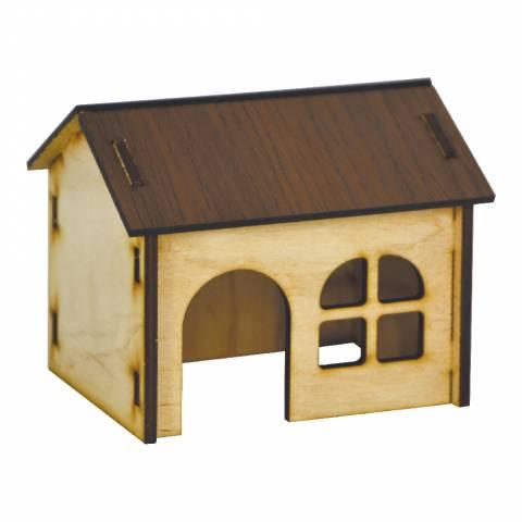 Будинок для хом'яка (колір, дерево)