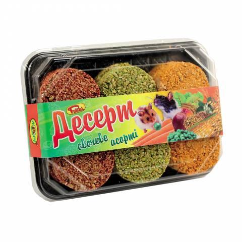 Десерт для гризунів   ОВОЧЕВИЙ  (12 шт)