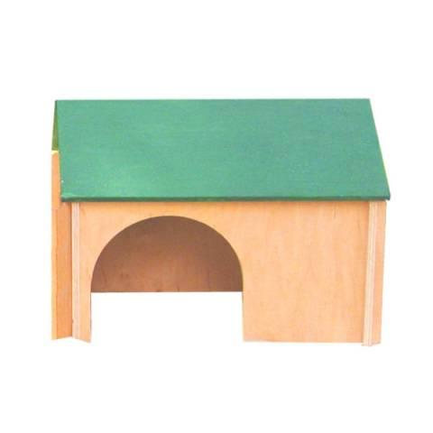 Будинок для кролів (колір, дерево)