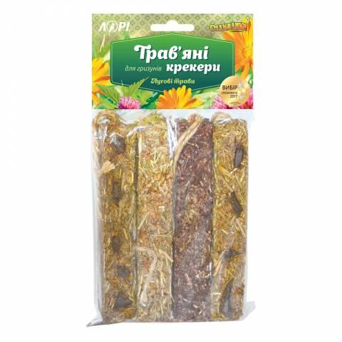 Трав'яні крекери для гризунів