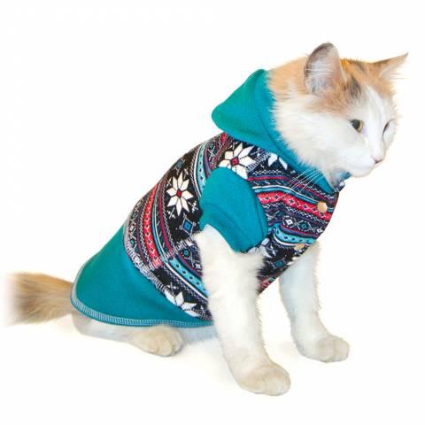 """Толстовка для котів і маленьких собак """"МОРОЗКО"""""""