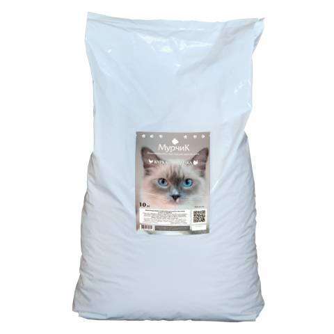МУРЧИК корм для котів, курка + індичка 10кг