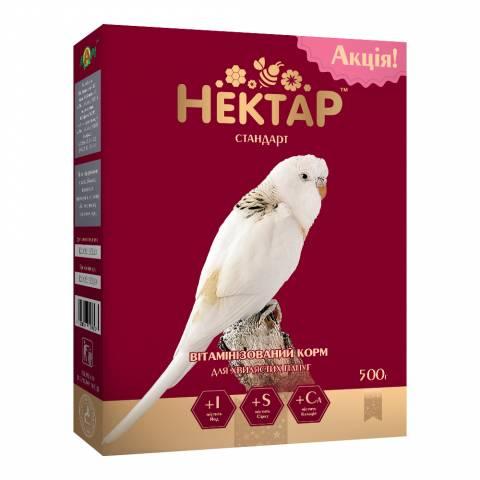 НЕКТАР - СТАНДАРТ корм для волнистых попугаев