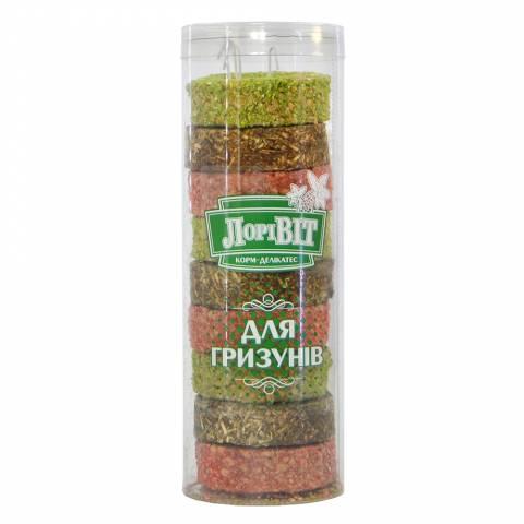 """Лоривит -ДЕЛИКАТЕС для грызунов кольца """"АССОРТИ"""""""